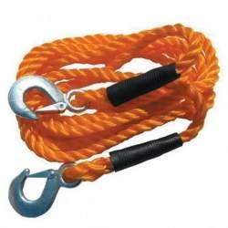 Coarda pentru remorcare, sarcina maxima 3 tone, lungime 4m, portocaliu, Strend Pro XL-MTR11 SUA-SK-432109