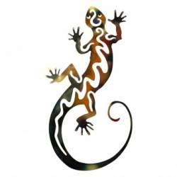 Decoratiune perete Krodesign Lizard, Lungime 106 cm, multicolora SUA-KRO-1024
