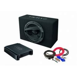 Pachet Subwoofer auto Hertz DBX 25.3 + Amplificator Hertz HCP 2 + Kit de cabluri complet HRT-SKU-8759627553-2865-76