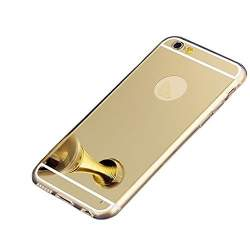Husa Apple iPhone 6/6S, Elegance Luxury tip oglinda Gold MAGD-97
