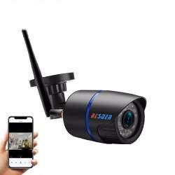 Camera de supraveghere BESDER 2MP Wifi 1080P, CCTV wireless si fir ONVIF cu slot microSD (max 32GB) MTEK-Besder