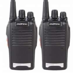 Set 2 statii radio portabile emisie receptie PROGRAMATE in banda de licenta libera, Walkie Talkie, Baofeng BF-777S MTEK-BF777S