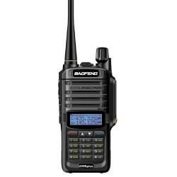 Statie radio portabila emisie receptie, Walkie Talkie Baofeng UV-9R PLUS, 18W, dual band 136 - 174 MHz / 400-520 Mhz MTEK-UV-9RP
