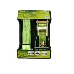 Chinga pentru fixare marfa cu clichet, Strend Pro, 50mm X 8m, 1000kg, 2 carlige SUA-SK-217625