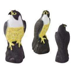 Soim Artificial Decorativ, Sperietoare pentru Porumbei sau Alte Pasari, Rozatoare si Soareci, 40x17 cm
