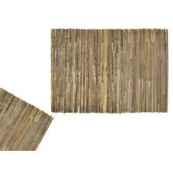 Gard paravan pentru gradina sau curte, din bambus natural, 1.5x5m