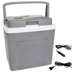 Lada frigorifica auto cu termostat, functie de incalzire si racire, capacitate 28L, 12V/220V