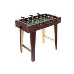 Masa Joc de Mini Fotbal Foosball XL, cu 18 Jucatori, 5 Mingi, Dimensiuni 69x37x62cm