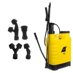 Pompa de Stropit Malatec Pulverizator sub presiune pentru Gradina, portabil, 4 duze, 16L