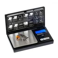 Cantar electronic de buzunar pentru bijuterii, cu afisaj LCD, capacitate 1000g, 2xAAA