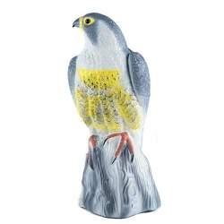 Vultur Artificial Decorativ, Sperietoare pentru Porumbei sau Alte Pasari, Rozatoare si Soareci, 41x16x18 cm