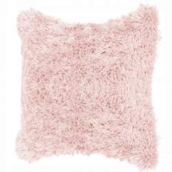 Fata de Perna Decorativa pufoasa Springos, dimensiune 40x40, culoare roz