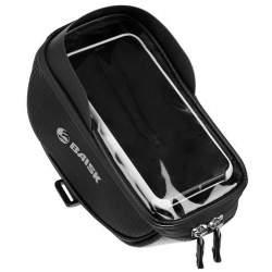 Husa Suport universal de Bicicleta pentru Telefon, 6.5 inch, impermeabila, culoare Negru