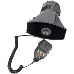 Sirena 3 melodii cu microfon si functie de inregistrare 12V 100W MRA36-150621-5