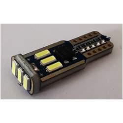 Bec auto LED T10 4014 cu 9 SMD ALB 12V CANBUS JSUN43 MRA36-090221-17