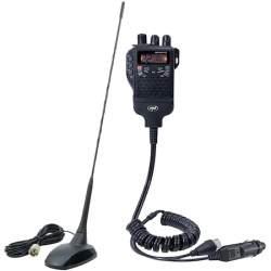 Kit Statie radio CB PNI Escort HP 62 si Antena PNI Extra 48 cu magnet inclus, ASQ, RF Gain MRA36-300321-2