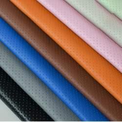 Material imitatie pielecu gaurele ROSU COD: Y05R MRA36-040621-43