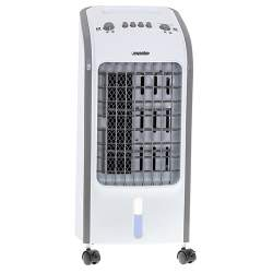 Aparat de Aer Conditionat Portabil Mesko 3in1, cu Functie de Racire, Umidificare si Purificare, debit aer 270 m3/h, 4L, 350W