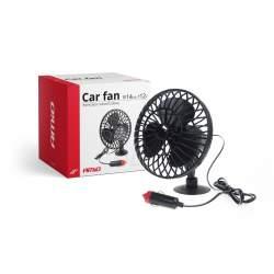 Ventilator auto cu ventuza, 12V, alimentare la bricheta masinii