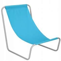 Scaun pliabil sezlong pentru plaja, gradina sau camping, cu cadru metalic, 90kg, culoare Albastru