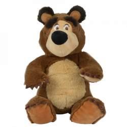 Jucarie de plus Masha and the Bear, Bean Bag Bear 20 cm MATM-HBN_S109301034
