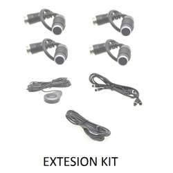 4 senzori fata de extindere pentru sistemele Digi4Park MEDO-D4PKITEX