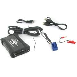 Connects2 CTAADUSB004 Interfata Audio mp3 USB/SD/AUX-IN AUDI A2/A3/A4/TT(Quadlock) MEDO-CTAADUSB004