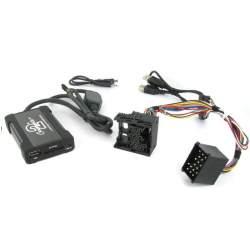 Connects2 CTABMUSB007 Interfata Audio mp3 USB/SD/AUX-IN BMW 3/5/7 MINI(Pini rotunzi) MEDO-CTABMUSB007