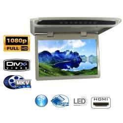 Monitor de plafon auto 12.2 inch Full HD HDMI cu redare de pe sd MKV MEDO-EDT-PF12