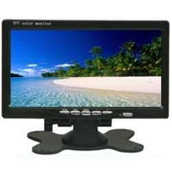 """Monitor video LCD auto de 7"""" 12-24V MEDO-EDT-7AV"""