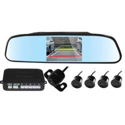 Oglinda cu camera video si senzori de parcare MEDO-EDT-RVCL-PARK
