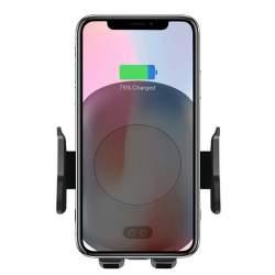 Suport pentru telefon cu incarcare rapida wireless QI cu ventuza MEDO-EDT-QI01