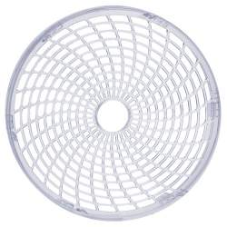 Tava rotunda sita pentru deshidrator de fructe sau legume Malatec, diametru 26.5 cm, transparent