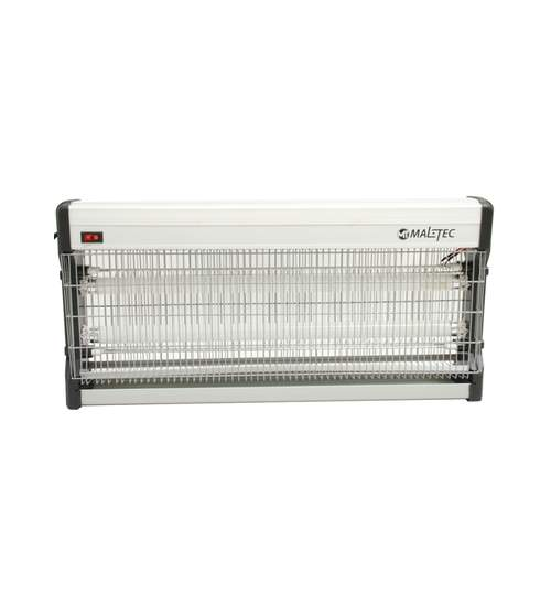 Aparat Insectocutor Lampa UV Anti-Insecte si Muste, Putere 40W, Acoperire 200mp