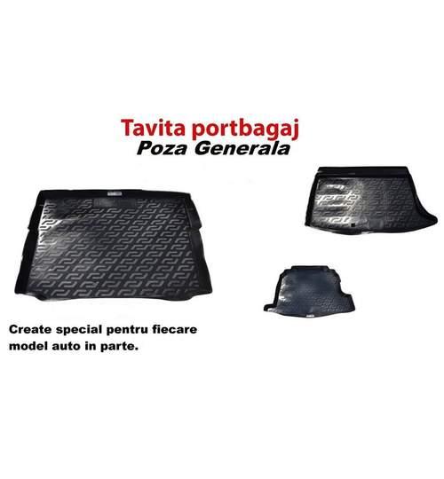 Covor portbagaj tavita SKODA SUPERB III 2015-> Break/combi portbagaj baza inalta ( PB 5420 ) ManiaCars