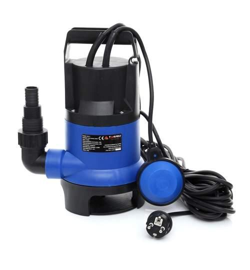 Pompa Submersibila Tagred cu Plutitor pentru Apa Curata, Murdara, Reziduala, Putere 1150W, Debit 10500L/H