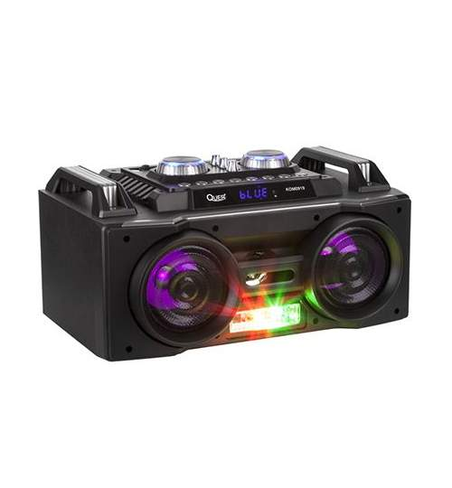 Sistem portabil FM/MP3/Bluetooth/Karaoke/RGB