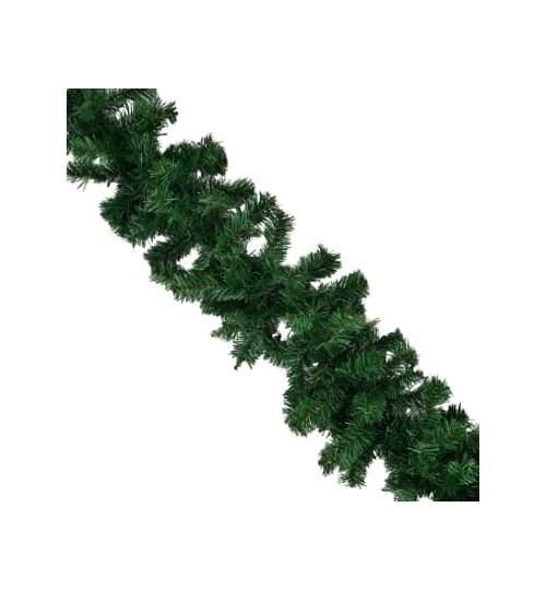 Ghirlanda decorativa de Craciun,ornamentala 1.8 m cu crengute de brad verzi