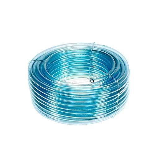 Furtun flexibil transparent din PVC, diametru 10mm, lungime 10m