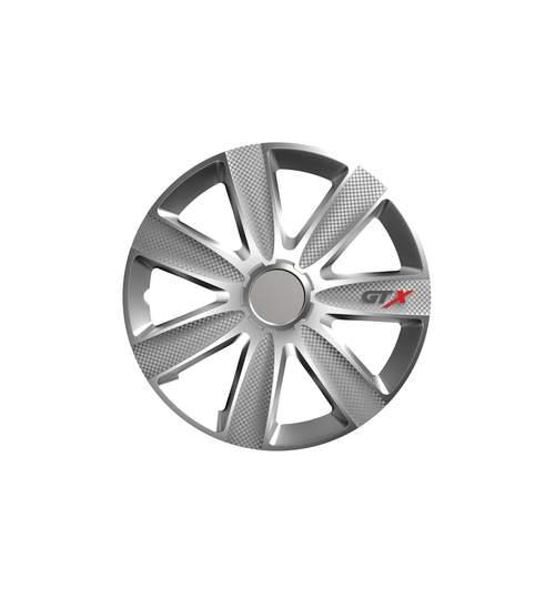 Set capace roti 14 inch, Carbon GTX, Argintiu
