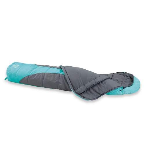 Sac de Dormit tip Mumie cu Gluga pentru Camping si Drumetii, 230cm, Culoare Albastru
