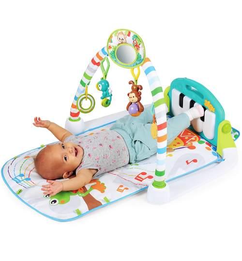 Saltea Covor Interactiv pentru Bebelusi cu Jucarii si Pian