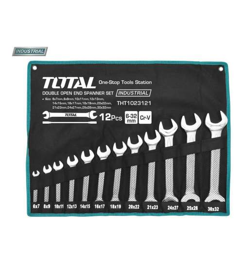 Set 12 chei fixe - 6-32mm (INDUSTRIAL) - MTO-THT1023121