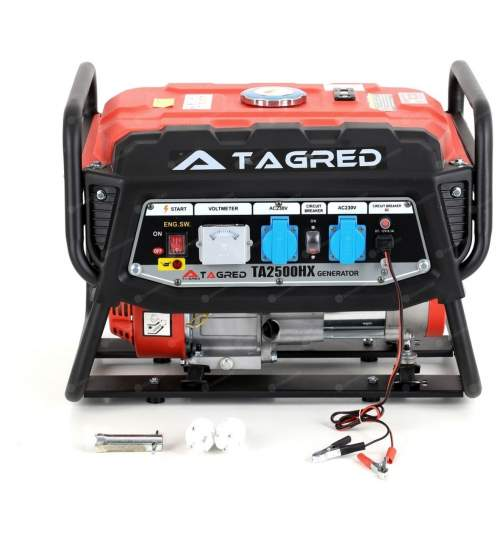 Generator curent electric Tagred, 2500W, motor 4 timpi cu stabilizator de tensiune