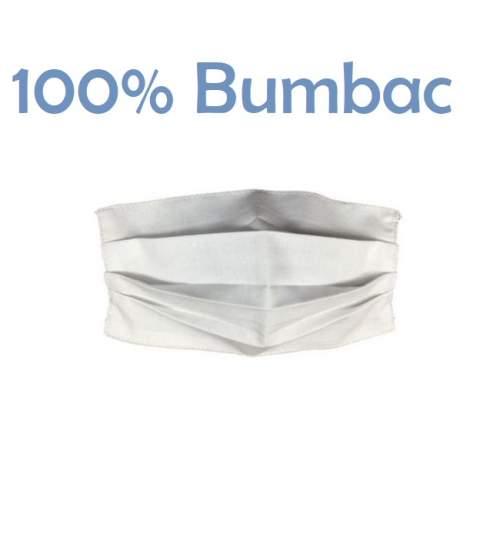 Masca de protectie refolosibila, din bumbac 100%, lavabila, dublu strat cu densitate mare