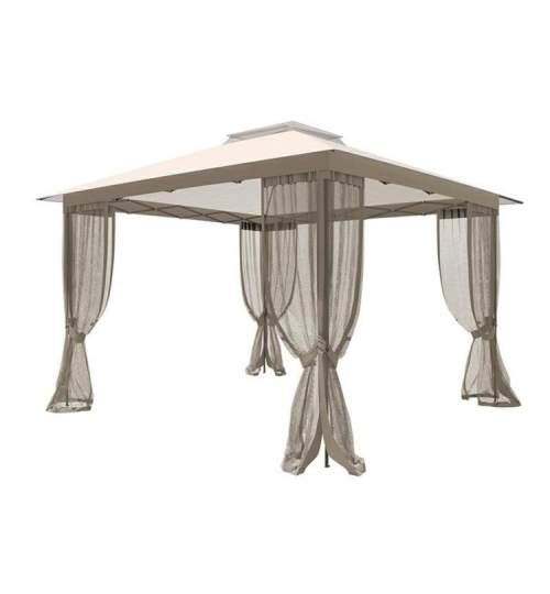 Cort Pavilion Roma pentru Curte, Gradina sau Evenimente, Dimensiuni 3x3m