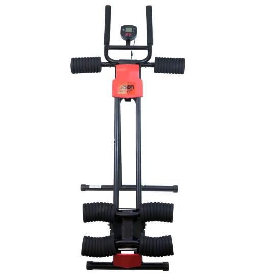 Aparat fitness AB Generator pentru exercitii si abdomene, cu computer, capacitate 110kg