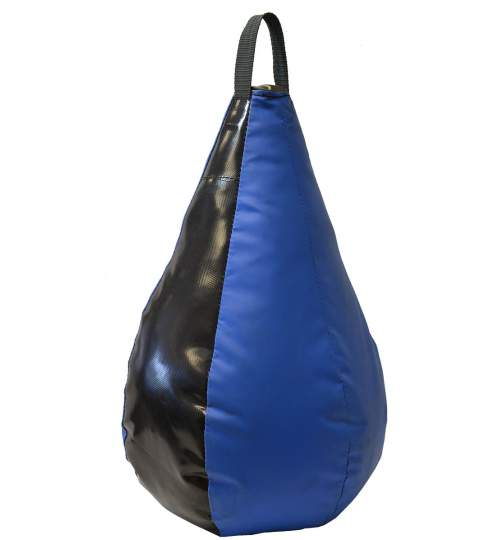 Sac de box tip para pentru antrenament, circumferinta 90cm, 5kg, albastru/negru