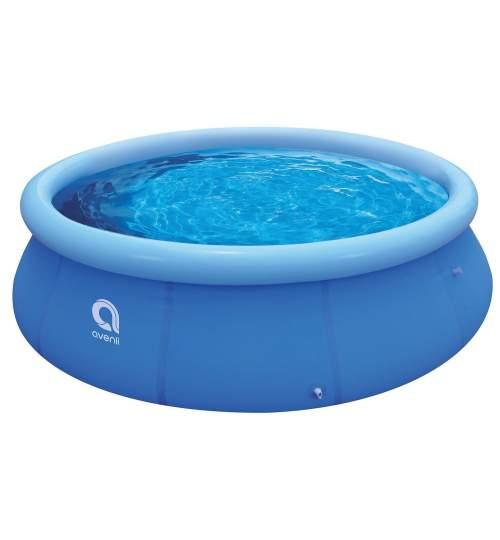 Piscina pentru copii cu inel gonflabil Avenli, strat triplu PVC, 240 x 63cm, capacitate 2074 L