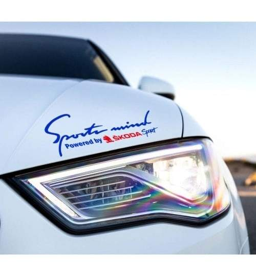 Sticker Sports Mind - SKODA ManiaStiker